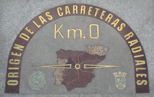 0-km stoeptegel Madrid