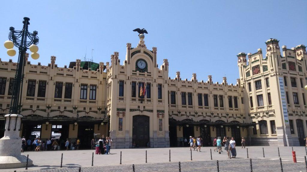 station valencia spanje el nord