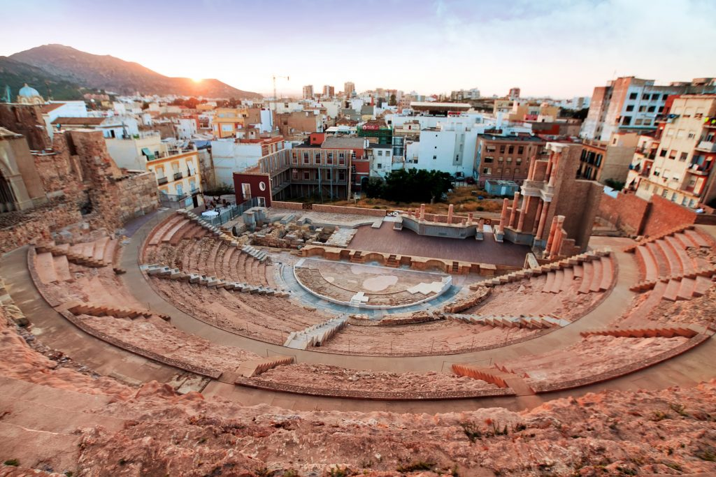 Roman amphitheater in Cartagena,Travel Bricks
