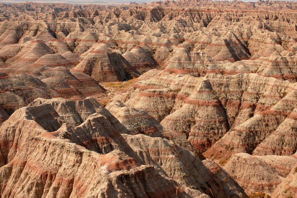 Travel Bricks Nationale Parken Amerika -Badlands National Park