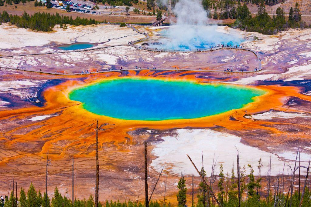 Travel Bricks Nationale Parken Amerika - Yellowstone National Park (Wyoming)