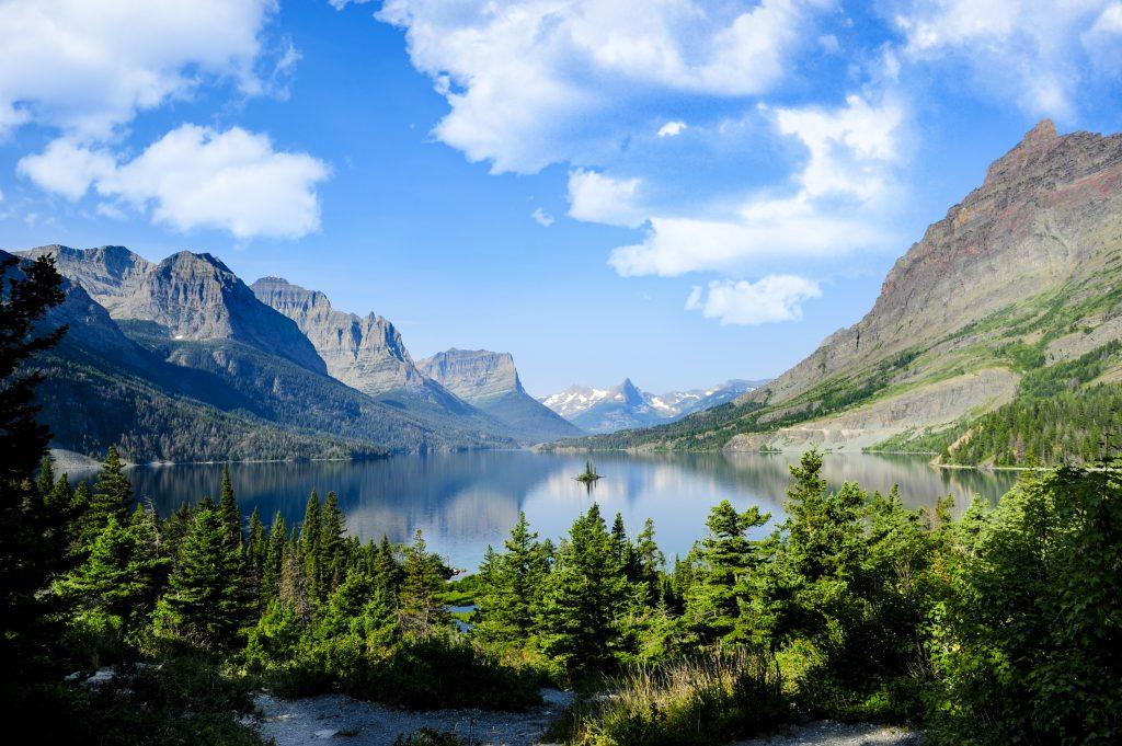 Travel Bricks Nationale Parken Amerika -Glacier National Park (Montana)